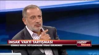 Cübbeli Ahmet Hoca'dan 'imsak vakti' tartışması 2017 Video