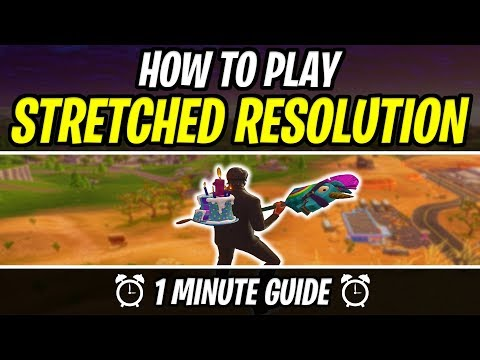 How to play Stretched Resolution in Fortnite [FAST GUIDE