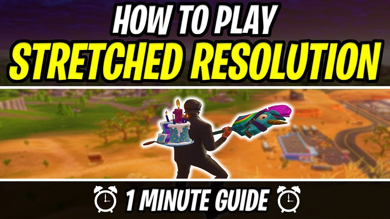 How to play Stretched Resolution in Fortnite [FAST GUIDE]