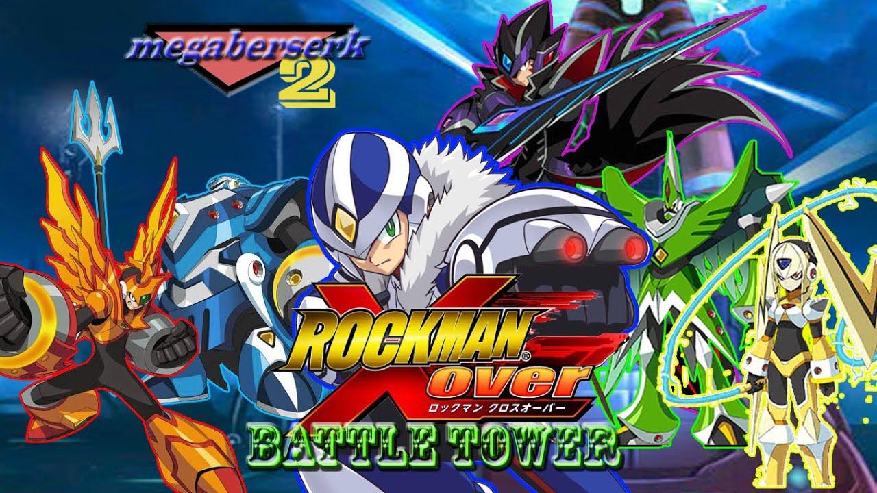 rockman xover las batallas en la battle tower y nero final