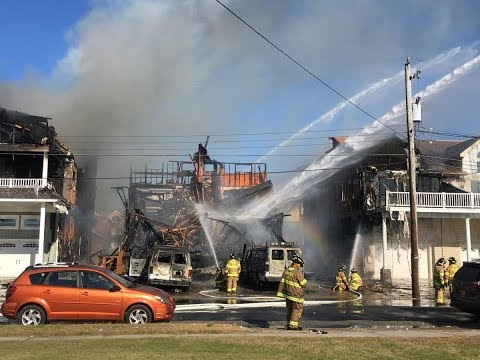6 homes in Sea Isle City, New Jersey damaged by raging fire