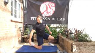 Daily stretch   Hip 1