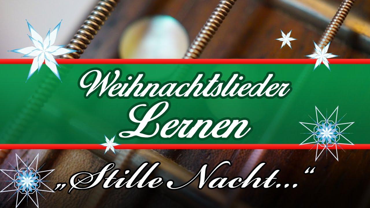 ☆ Stille Nacht Gitarre Lernen Weihnachtslieder Gitarre Spielen ...