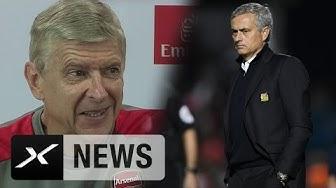 """Arsene Wenger zu Jose Mourinhos Attacke: """"Werde sein Buch nicht lesen""""   FC Arsenal   Premier League"""