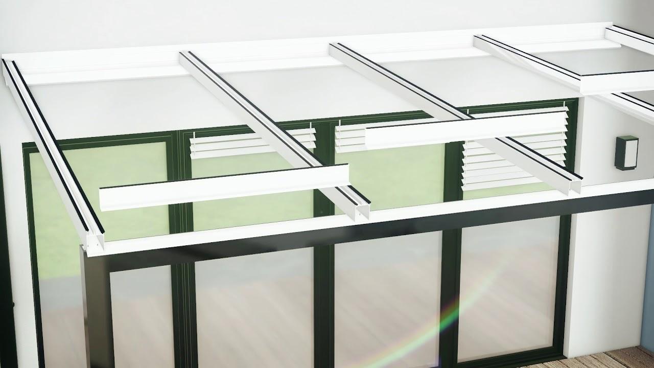 sunclear montage toiture veranda avec profils porteurs v2
