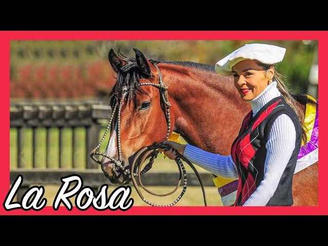 La Rosa Cala Bassa, ela desfila na pista!