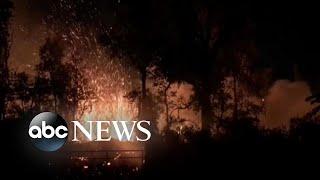 6.9 magnitude quake hits Hawaii, causes volcanic eruptions