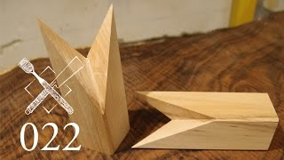 Joint Venture Ep. 22: Quadruple-faced halved rabbeted oblique scarf joint