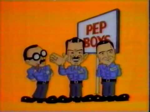 1984 Pep Boys Commercial 2