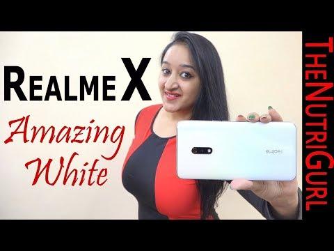 Realme X - Amazing White