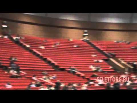 схема зала Крокус Сити Холл,