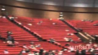 схема зала Крокус Сити Холл, партер, обзор зала