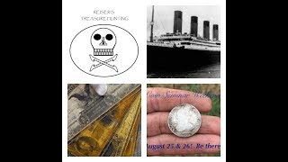 Coins and Currency Relevant to the RMS Titanic! Coin Seminar Weekend Introduction! And More! Don't miss the LIVESTREAMS! Every Tuesday at 7pm EST.