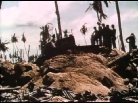Marines at Tarawa Return to Guam
