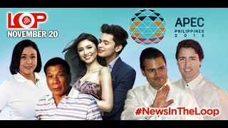 In the Loop: Na-Alma; APEC hotties; Duterte 2016