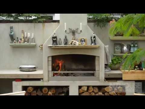 Al Brown's outdoor kitchen
