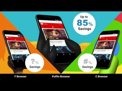 Puffin Browser - Wicked Fast, Data Savings, Virtual Gamepad