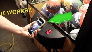 How To Get Free Plays At The Arcade Claw Machine!!!!  It Works!