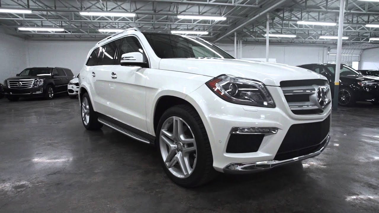Mercedes Benz GL 550 for Rent in Miami