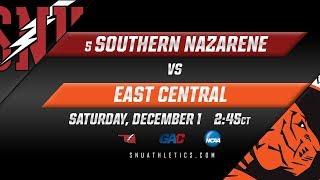 No. 5 SNU Men's Basketball vs. East Central