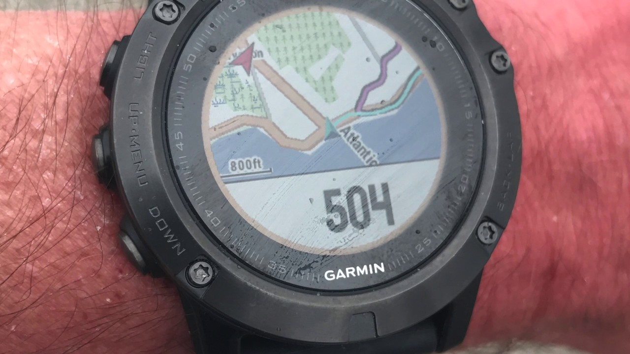 Garmin Fenix 5x Maps And Courses Youtube