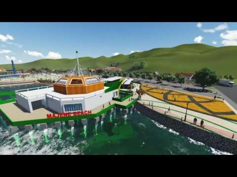 Water Front City Majene - Segmen I Pelabuhan
