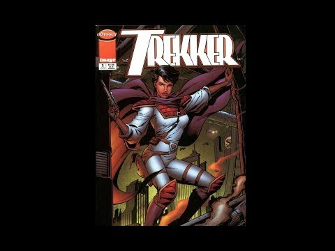 Trekker by Ron Randall is the best science fiction action comic book of the 1980s