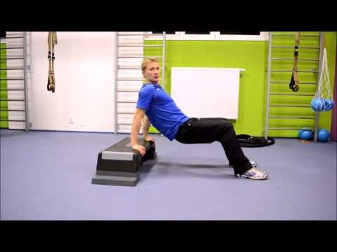 Cviky na triceps - tricepsový klik