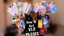 get free VIP Passes to ANY Concert