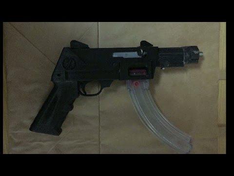 Beslagtog vapen utskrivna på 3D-skrivare - Nyheterna TV4