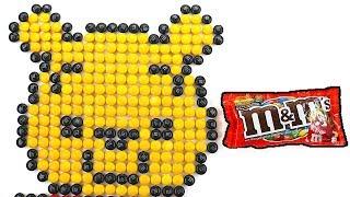 Pixel Art Winnie theh Pooh - M&M Art
