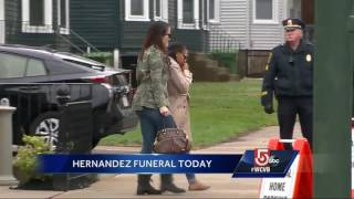 Private funeral for Aaron Hernandez set for today