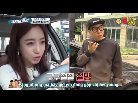 [Vietsub][T-aravn.net]Master Of Driving Straight Eunjung & Hyomin  (T-ara)   Ep 2