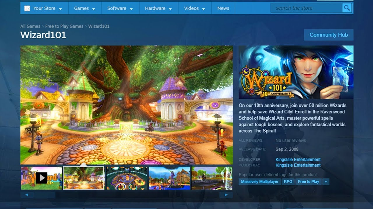 It's Actually Happening    Wizard101 is on Steam