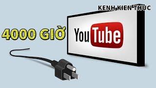Kênh YouTube đạt 4000h xem? Đây là cách xem ngay lập tức | Kênh Kiến Thức