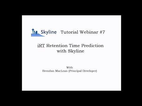 SkyJam 2 iRT - Brendan MacLean - DIA/SWATH Course 2017 - ETH Zurich