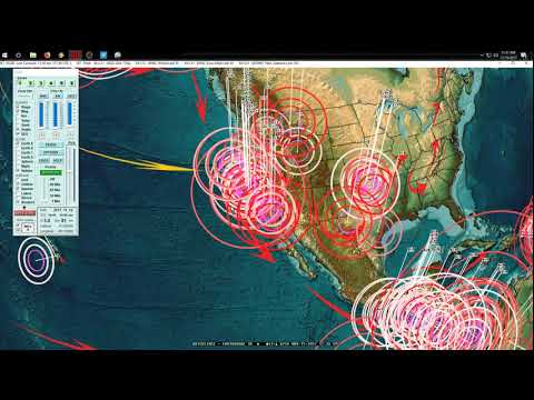 11/15/2017 -- Earthquake Unrest across West Coast USA, Europe + West Pacific = Be Prepared