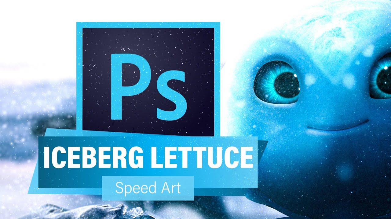 REALISTIC ICEBERG LETTUCE RECREATION (Photoshop) - Plants vs Zombies: Battle For Neighborville