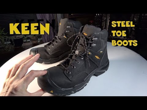 KEEN Mt Vernon Steel Toe Work Boot review