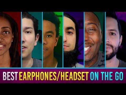 Best Earphones/Headset On The Go