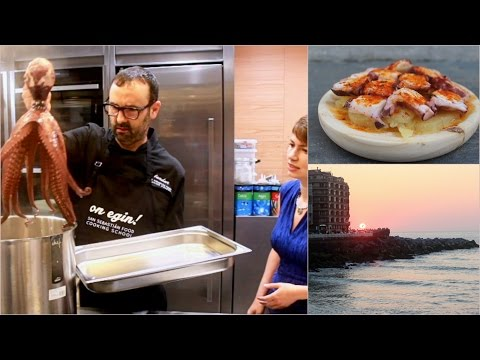Cooking Octopus with San Sebastian Food