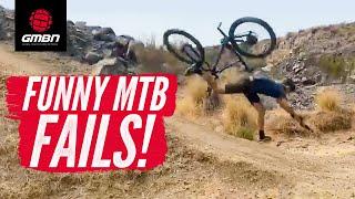 Crazy Mountain Bike Crashes! | GMBN's October MTB Fails & Bails 2020