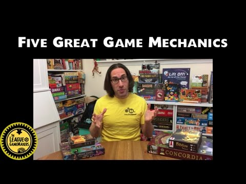 LoGM - Five Great Game Mechanics