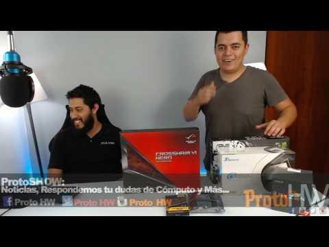 ProtoShow: Como ensamblar una computadora con AMD ryzen 1700 en vivo y noticias