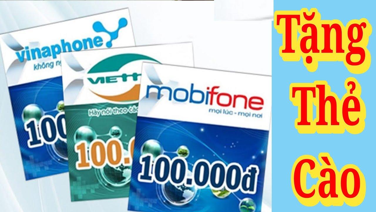 Tặng Card Điện Thoại Miễn Phí Cho Anh Em