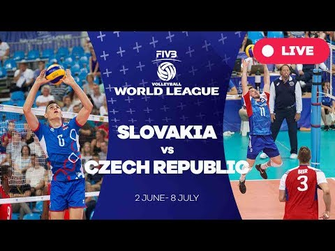 Slovakia v Czech Republic - Group 2: 2017 FIVB Volleyball World League
