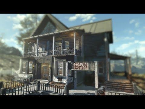 Fallout 4 - Coastal Cottage Hotel Tour (Railroad Hideout) thumbnail