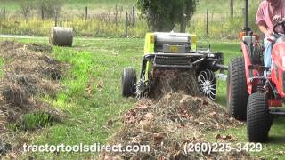 Tractor Tools Direct - CAEB Mini Round Baler Demonstration