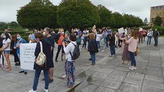 Profesores de Conservatorio reclaman en Gijón la convocatoria de 80 plazas de interinos