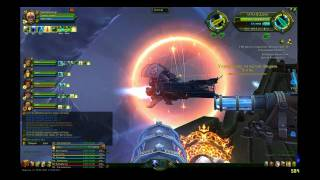 Allods Online HD: Armageddon vs Nagibator astral ships pvp